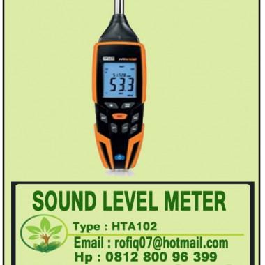 SOUND LEVEL METER type HTA102