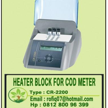 HEATER BLOCK FOR COD METER type CR-2200