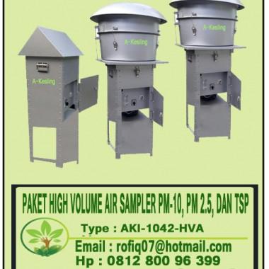 PAKET HIGH VOLUME AIR SAMPLER PM-10, PM 2.5, DAN TSP