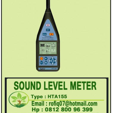 SOUND LEVEL METER CLASS 1 type HT-155