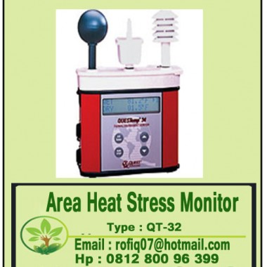 Area Heat Stress Monitor  type QT-32