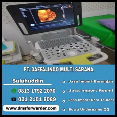 Jasa Import USG 4D Zoncare   081317922070