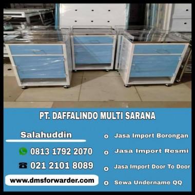 Jasa Import bedside cabinet – Lemari Pasien   081317922070