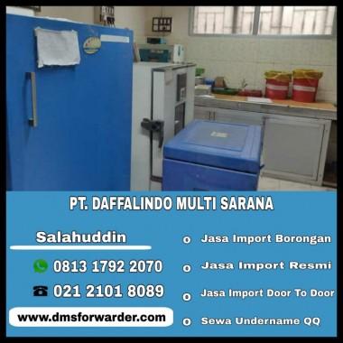 Jasa Import Blood Plasma Freezer   081317922070
