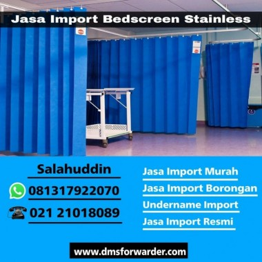 Jasa Import Bedscreen Stainless   081317922070