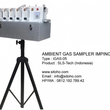 GAS SAMPLER IMPINGER Type : iGAS-05 | Jual AMBIENT GAS SAMPLER IMPINGER DAN ABSORBENT