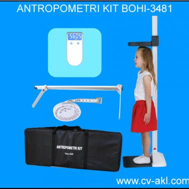 ANTROPOMETRI KIT BOHI-3841| STUNTING | ALAT UKUR BERAT DAN TINGGI BADAN | EKATALOG ANTROPOMETRI KIT