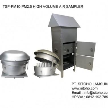 TSP-PM10-PM2.5 HIGH VOLUME AIR SAMPLER | JUAL HVAS ALAT SAMPLING DEBU