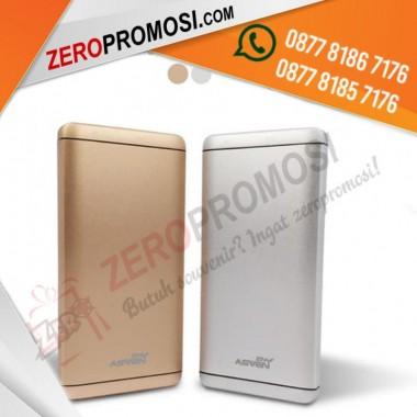 Powerbank Promosi Metal 10000 mAh Kode P100AL12