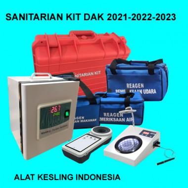 SANITARIAN KIT DAK-2022-2023 Mengacu ke Permenkes Nomor 8 Tahun 2021