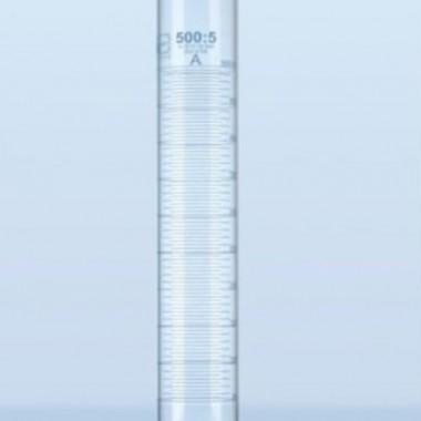 measuring cylinder blue graduation schott Duran,gelas ukur kaca hydro jar